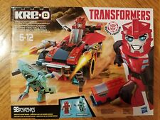 Kre-o Transformers Sideswipe Roadway Rundown Construction Kit 98 pcs New Sealed
