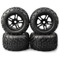 RC 4X Rubber 155mm Tires&Wheel 17mm Hex For HSP HPI 1:8 Bigfoot Monster Truck