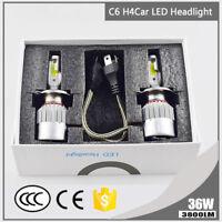 1pc H4 9003 HB2 36W 3800LM Car LED Headlight Bulbs COB 6000K White Hi/Lo Beam