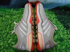 Adidas AdiPower Boost Orangeburst Golf Shoes Mens Size 8.5 Medium Exclnt Cond