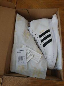 Adidas Superstar Hi Top UK Size 8