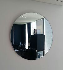 Large Round Frameless polished edge mirror Dia. 80cm Bathroom or feature NEW