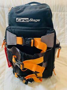 CineBags CB-25 Revolution Camera Backpack, Black /Orange #CB25 Good/Excellent
