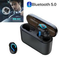 HBQ-Q32 TWS Bluetooth 5.0 Earphone Wireless Headphons Sport Handsfree Earbuds