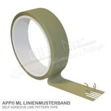 APP ML  Linienmusterband Rolle 25 mm x 10 m Schutzband 070380