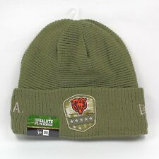 New Era Cap Men's NFL Chicago Bears Salute To Service Winter Knit Beanie Hat