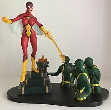 """Marvel Select SPIDER-WOMAN 6"""" Action Figure Full Mask Variant Loose w/Hydra Base"""