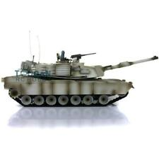 Henglong 1/16 Snow 6.0 Upgrade Abrams Rc Tank 3918 360° Turret Barrel Recoil