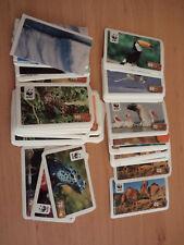 """REWE Sammelsticker """"WWF for a living planet"""" (ca.117 Stück)"""