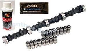 """SB Chevy 283 305 327 350 400 HP Cam Lifter Zinc Kit .480""""/.480"""" Lift 232°/232°"""