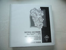 Mack Eco-Tech Natural Gas LNG CNG E7G Engine SERVICE MANUAL Repair Shop 5-107