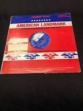AMERICAN LANDMARKS LP Guadalcanal Diaries And Alaskan Gold Rush, Recorded Dramat