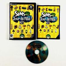 Les Sims 2 Jour De Fete Kit PC / Jeu Complet en Français,,**free shipping**