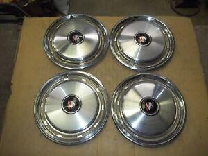 "Buick LeSabre Century Hubcap Rim Wheel Cover Hub Cap 74 75 76 77 15"" USED 1057 4"