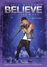 Justin Bieber's Believe DVD 2014 Canadian New