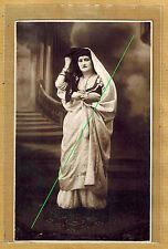 Photo card vintage card rppc type woman jewish? arabic? maghreb judaica ph0230