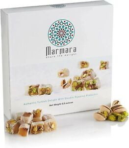 Turkish Delights with Double Roasted Pistachio Authentic Hand Made Gourmet Sw...