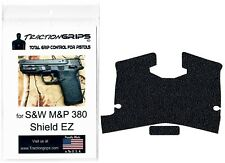 Tractiongrips rubber grip tape overlay for S&W M&P Shield 380 EZ / pistol grips