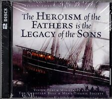 """TITANIC """"THE HEROISM OF THE FATHERS IS THE LEGACY OF THE SONS"""" 2 CD 2002 sealed"""
