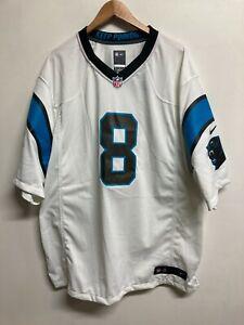 Carolina Panthers Jersey - Men's NFL Nike Road Jersey - 3XL - Horn 8 - NWD