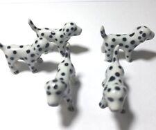 5 pcs Figurines Dog Ceramic Miniature Statue Decor Collectible Garden Gift Cute