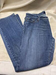 Vintage Levi's 504 Womens Tilted Jeans Sz On Label 13 Medium