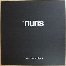 YE NUNS Nun More Black vinyl LP Monks garage punk psych beat 300-copies