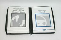 1998 Ford Escort Factory Original Owners Manual Portfolio #K90