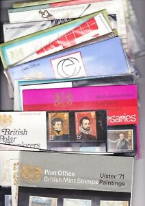 ** 1971 - 1979 PRESENTATION PACKS MULTIPLE LISTING ORIGINAL WRAPPING FREE P&P **