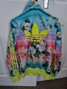 Ladies Adidas Floral Track Jacket