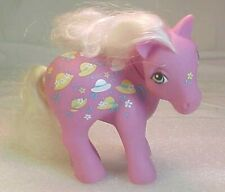 Vintage 1983 G1 Hasbro My Little Pony  BONNIE BONNETS Twice as Fancy Ponies