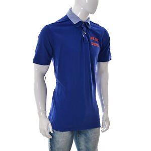Nils Sundstrom Men Pique Polo T-Shirt New York Athletics Short Sleeve Size XL/54