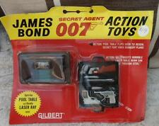 JAMES BOND vintage 1964 Gilbert figures rare sealed M Attache Case cap firing 1