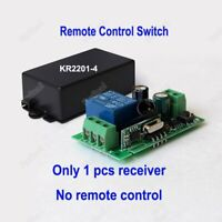 Wireless 1CH RF Remote Control Transmitter For Led Light Lamp Switch 433Mhz DIY