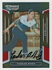 2008 Donruss Sports Legends Autograph Mirror Red Parker Bohn HOF 0150/1369