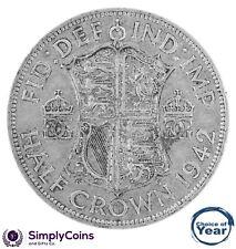 1937 To 1951 George VI argent demi-couronnes Choix de l'année/date