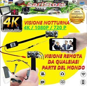 🌟 MICRO CAMERA AUDIO VIDEO FULL HD APP4K IP NASCOSTA CAM SPIA SPY CMOS WIFI