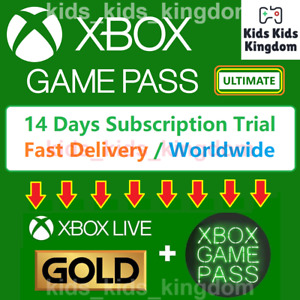 Xbox Game Pass Ultimate ( Live GOLD + Game Pass ) 14 days Trial / Fast DELIVERY