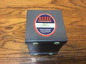 Vintage Altec Hollywood California Transformer Model TBB-103