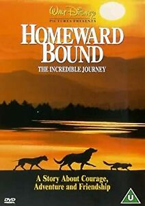 Homeward Bound: The Incredible Journey [DVD] [1993], , Used; Acceptable DVD