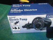 Intex Quick Fill model 160 electric air pump, new in box