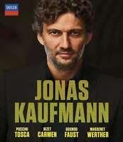 Jonas Kaufmann - Carmen - Tosca - Faust - Werther : Jonas Kaufmann Nuevo Blu-Ray