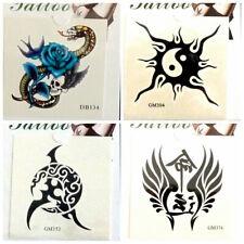 5 Pcs 3d Magic Sticker Nail Waist Arm Neck Tattoo Stickers