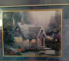 Thomas Kinkade 100 Piece Miniature Jigsaw Puzzle Cedar Nook Cottage