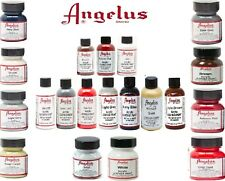 Angelus Acrylic Leather Paint for Sneakers, Shoes, Bags -78  Colours - 1oz / 4oz