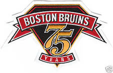 BOSTON BRUINS 75TH ANNIVERSARY PATCH RARE