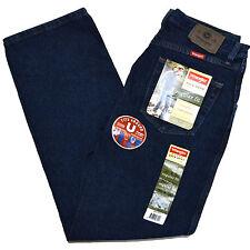 Wrangler Hero Jeans Regular Fit Mens Size 42 X 30 Dark Wash J101