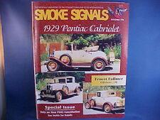 1929 Cabriolet, 1987 Grand Am, 1960 Catalina--Smoke Signals November 1998 11/98