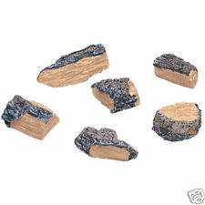 Real Fyre Gas Log Decorative Charred Wood Chips WCH-6
