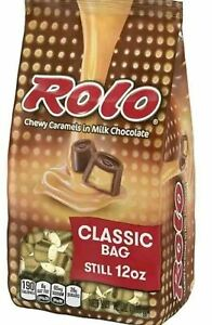 Rolo Creamy Caramels Candy Bars Chocolates Travel On The Go